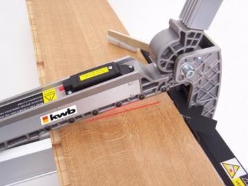 kwb Parkett-Schneider 179000 (für alle handelsüblichen Parkettsorten mit Laser-Schnittmarkierung) -